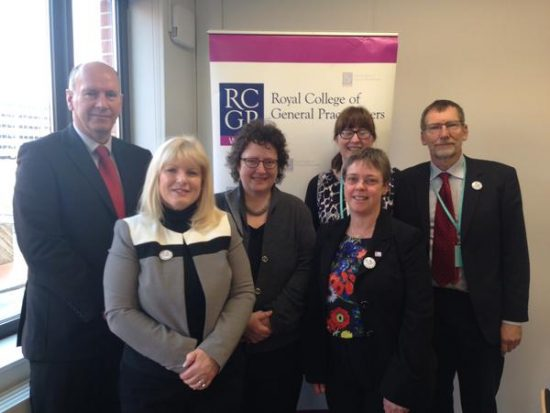 GP Workforce with Chair of H&S Care committee, RCGP chair and acting chair of patient partnership in practice